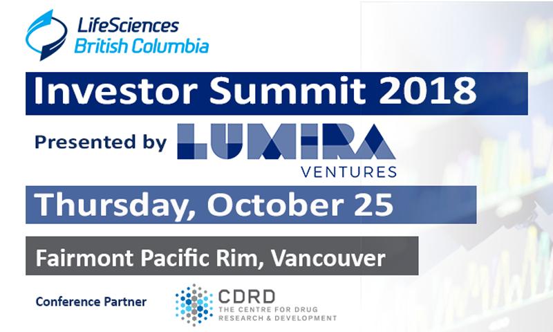 Vesalius is selected to pitch at the 2018 Life Sciences British Columbia (LSBC) Investors Summit