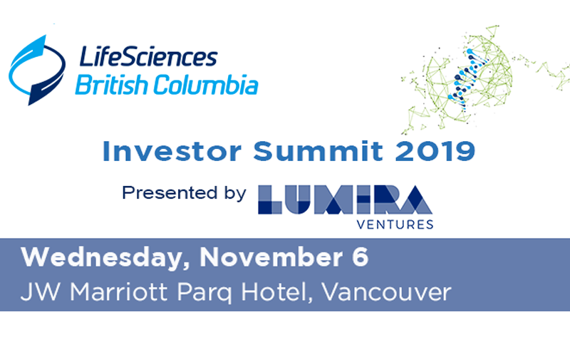 Vesalius is selected to pitch at the 2019 Life Sciences British Columbia (LSBC) Investors Summit