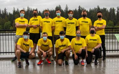 The Vesalius Team Joins the 2021 Vancouver Sun Run