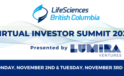 Vesalius has been selected to pitch at the LifeSciences BC Investor Summit 2020, presented by Lumira Ventures